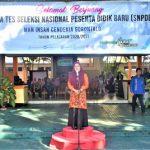 Pelaksanaan Tes SNPDB MAN IC Gorontalo Dibuka Kabid Pendma