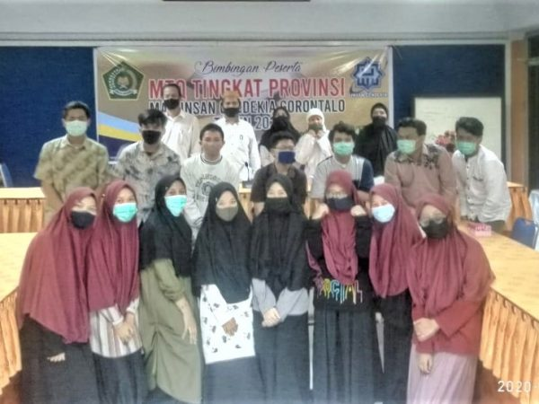 MAN IC Gorontalo Andalan Kafilah Bone Bolango ke MTQ Tingkat Provinsi