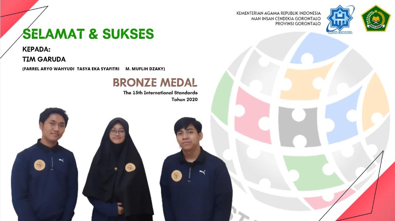 Peraih Medali Perunggu Olimpiade Standar Internasional