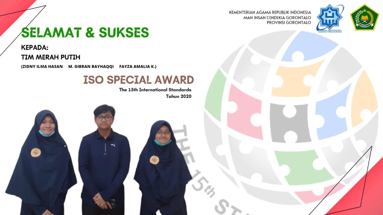 Peraih ISO Special Award Olimpiade Standar Internasional
