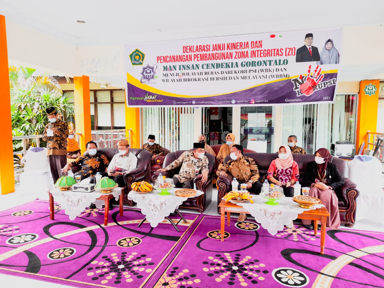 Jasmaniar: Bangun ZI MAN IC Gorontalo Melayani Sepenuh Hati