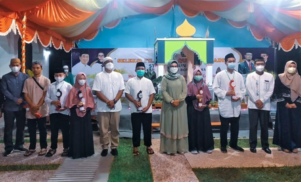 Siswa MAN IC Gorontalo Wakili Bone Bolango di STQH Provinsi